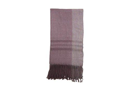 Scarf Violet, 100% Alpaca Wool