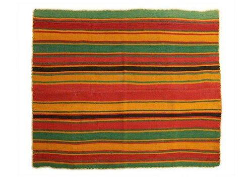 "Teppich ""Frazada Boliviana"", 150x150 cm, 100% Alpaca Wolle"