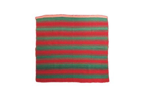 "Alfombra ""Frazada Boliviana"", 150x150cm, 100% lana de alpaca - Copy"