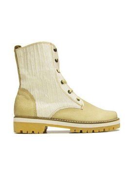 "Matices Stiefelette ""Cream white"" 100% Leder"