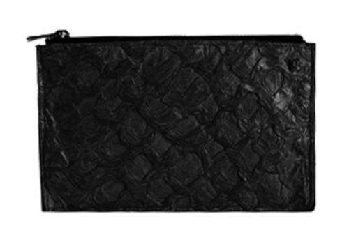 Osklen Clutch Piraracu Fisch & Bovine leather