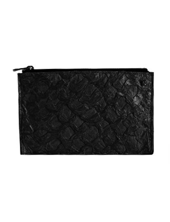 Osklen Clutch Piraracu Fisch & Bovine leather