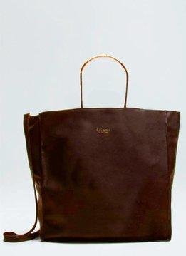 Osklen Tote Bag Tube Tote Toffee