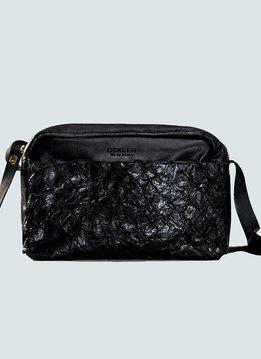 Osklen Tasche Medium, Piraracu Fisch & Lammleder