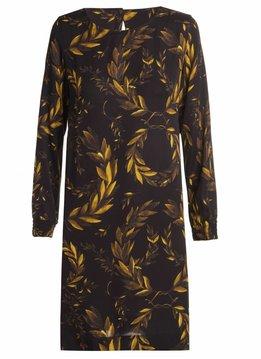 "Osklen Dress Long Sleeves ""Laurel"" Golden Spirit Collection"