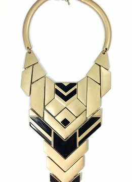Frandolce Collier Rayos, gold