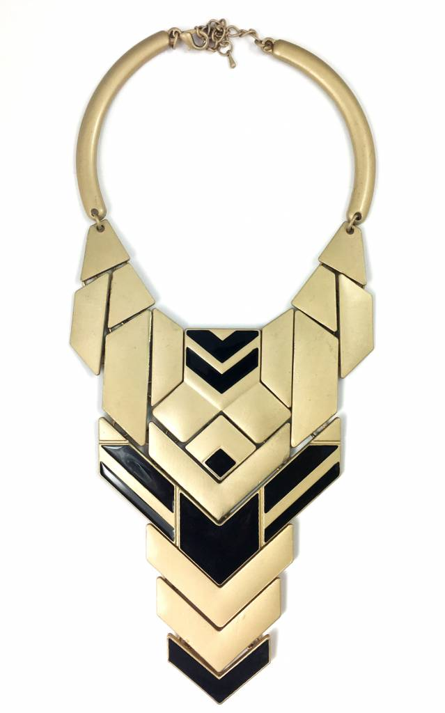 Frandolce Necklace Rayos, gold