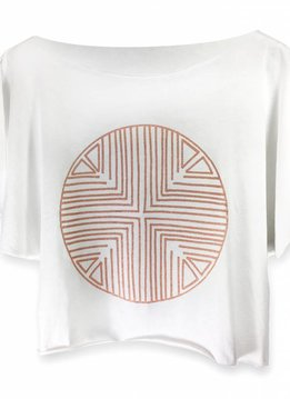 Katari Tshirt Terracota Pima Cotton
