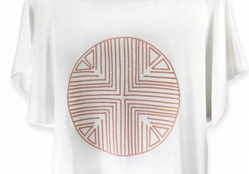 Katari Tshirt Terracota Pima Cotton