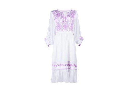 Santa Lupita Eden Garden Dress Lavender