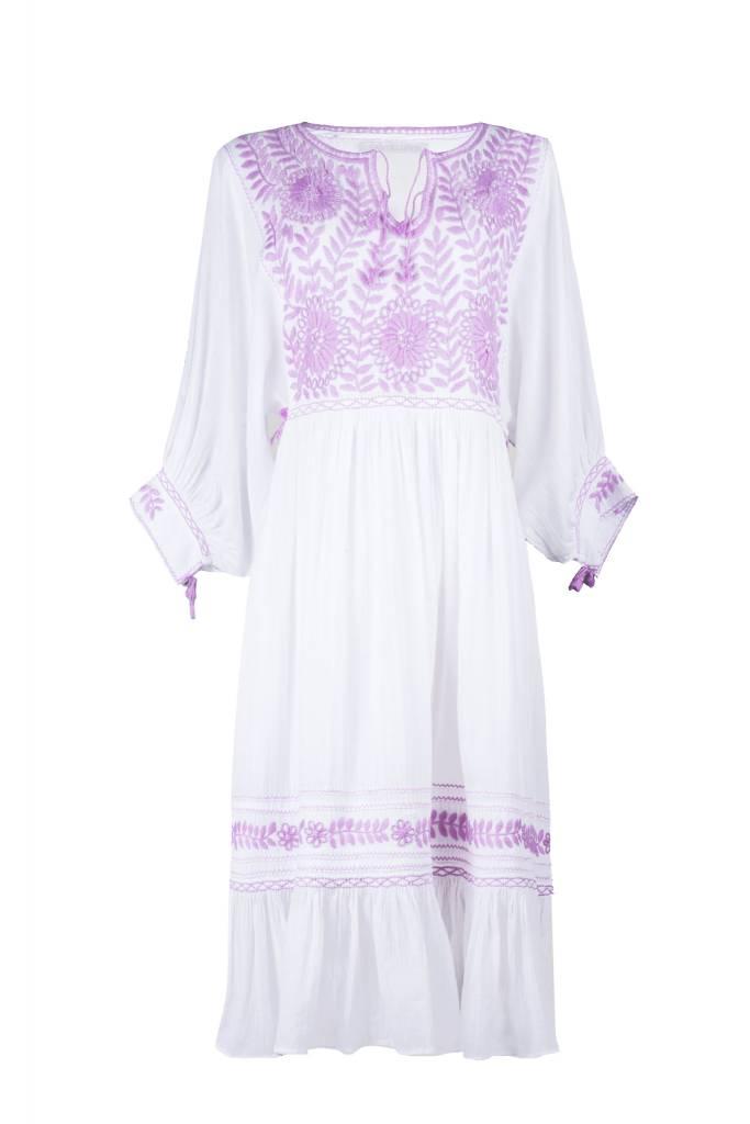 Santa Lupita Kleid Eden Garden Dress Lavender