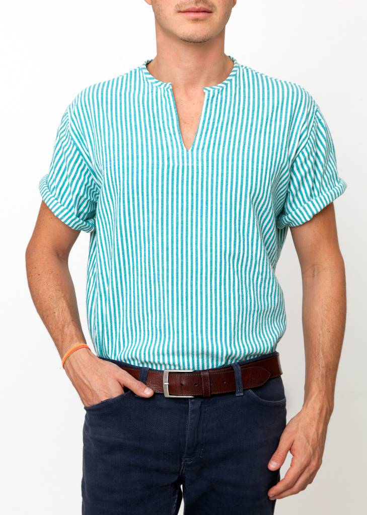Santa Lupita Daddy´s Shirt Green