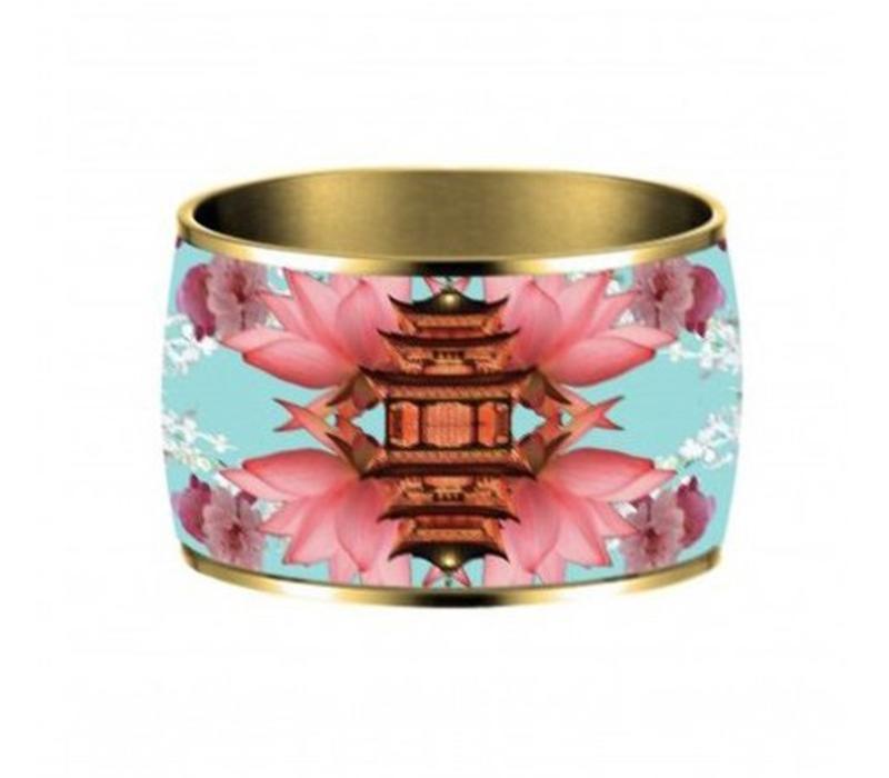 Armband, Samourai Dream, vergoldet 24 Kt