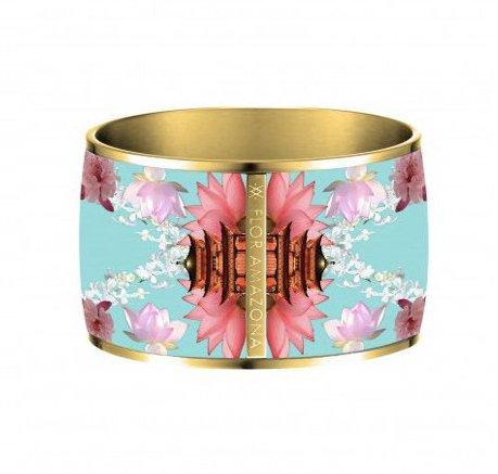 Flor Amazona Armband Flor Amazona, Samourai Dream, vergoldet 24 Kt