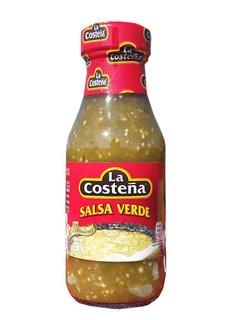 Salsa Verde La Costeña 220ml - Green Sausage lighty spiced