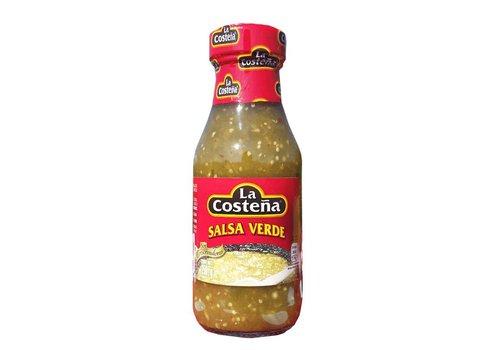 La Costeña Salsa Verde La Costeña 220ml - grüne, leicht scharfe Sauce aus Tomatillos