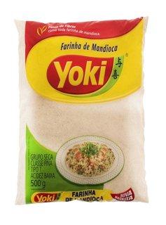 Harina de yuca - Farinha de Mandioca Crua Yoki 500g