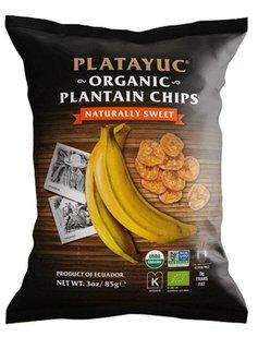 Platayuc Organic plantain chips naturally sweet