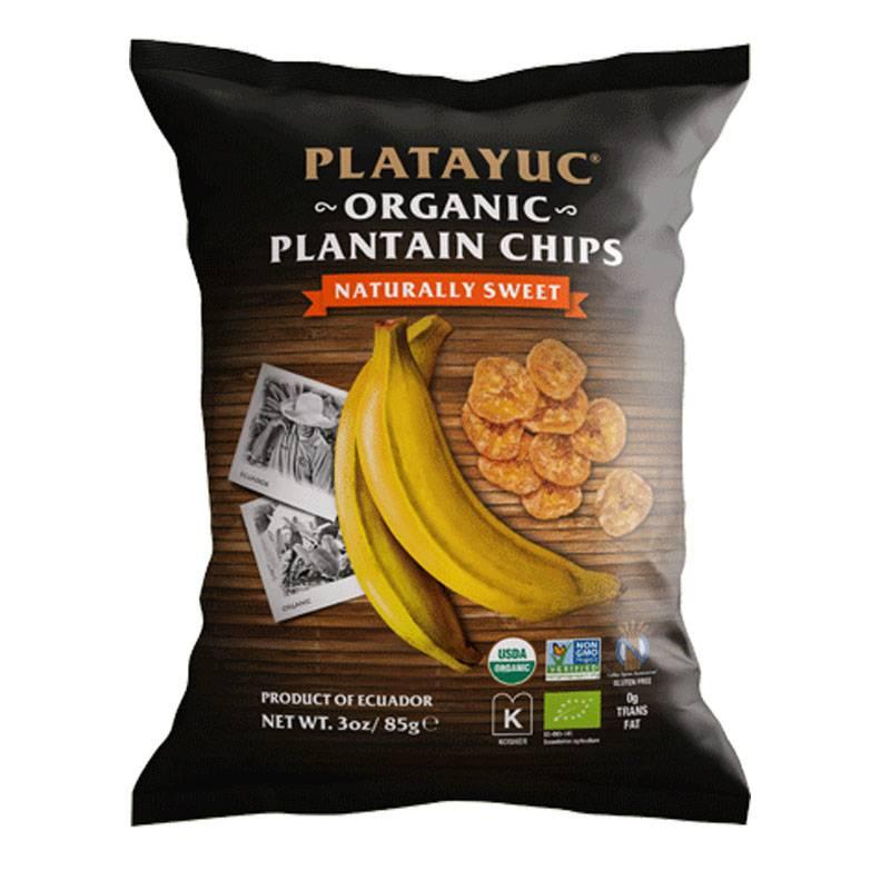 Platayuc Bio Bananen Chips sweet