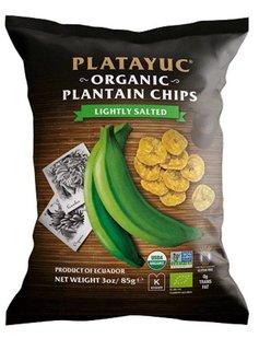 Platayuc Chips de banana ligeramente saladas