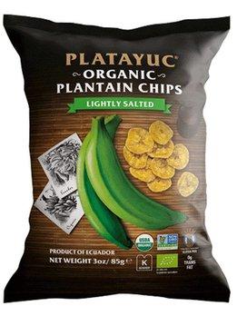 Platayuc Organic Banana Chips lightly salted