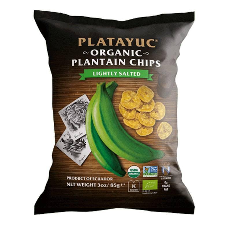 Platayuc Bio Bananen Chips leicht gesalzen