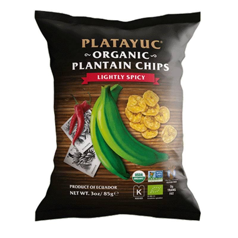 Platayuc Bio Bananen Chips leicht scharf