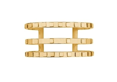 Ina Beissner Cuff Salomé gold plated