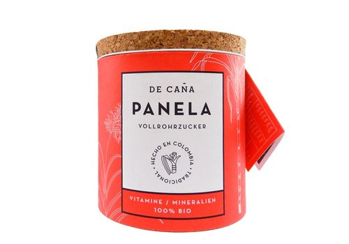 De Caña Panela Raw Sugar, Bowl 125g