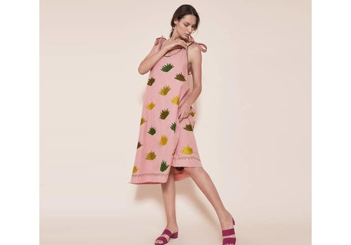Santa Lupita Kleid The Agave Dress