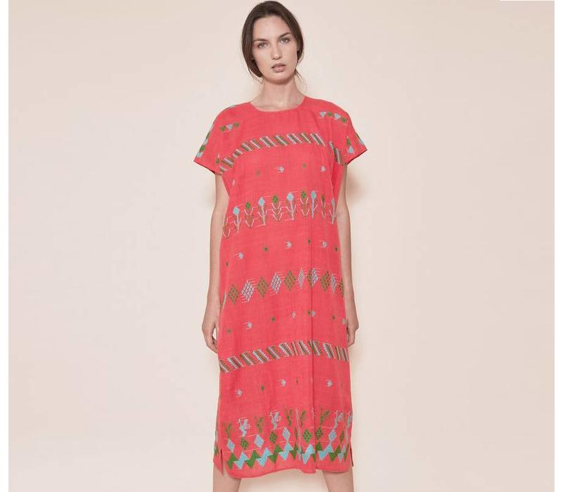 Kleid The Cienagas Huipil