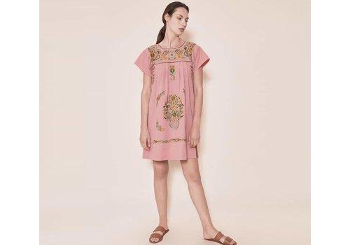 Santa Lupita Dress Mummy´s Dress Pink