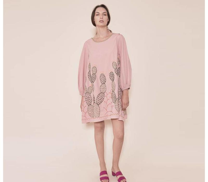 Kleid The Nopales Dress Pink