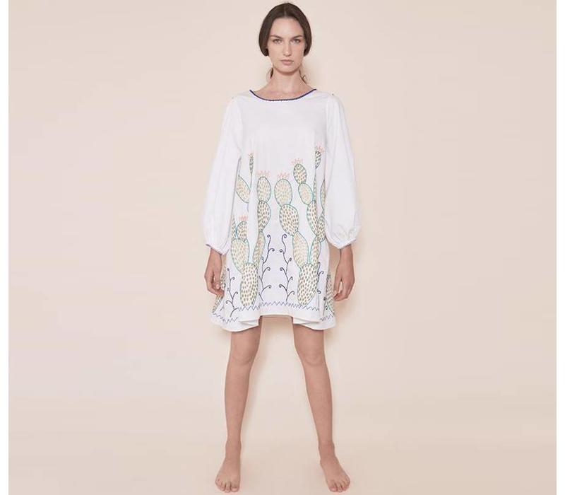 Kleid The Nopales Dress Weiß