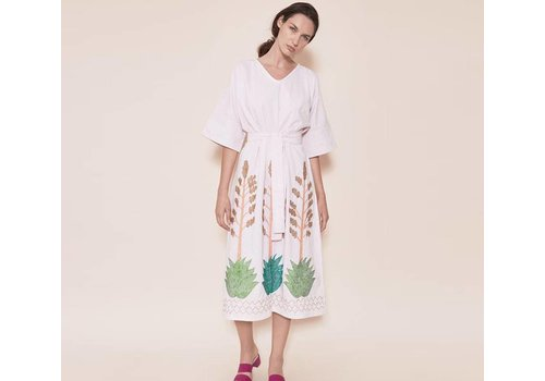 Santa Lupita Dress The Riviera Robe