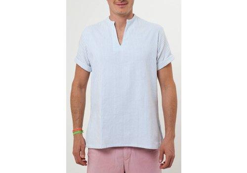 Santa Lupita The Riviera Shirt Baby Blue