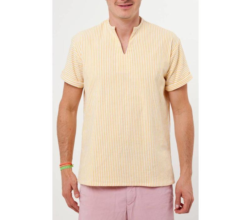 Hemd The Riviera Shirt Yellow