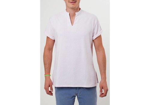 Santa Lupita Hemd The Riviera Shirt Rose