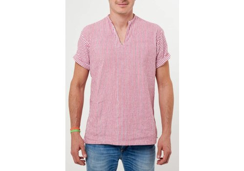 Santa Lupita Hemd The Riviera Shirt Rot