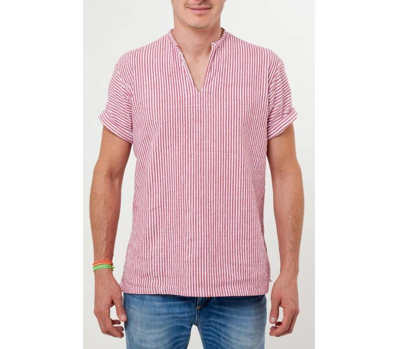 The Riviera Shirt Red