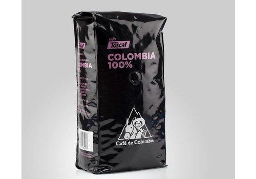 Toscaf CAFÈ DE COLOMBIA 100% ARABICA, GRANOS -1Kg
