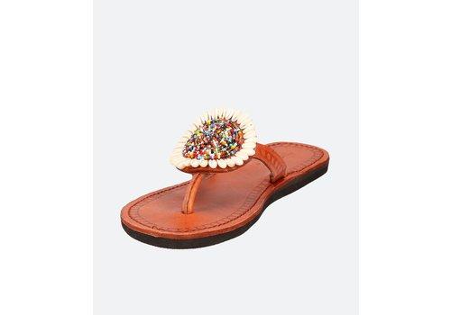 Ishola Sandals Nu-pieds JUA Multicolores