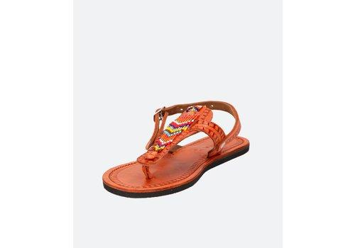 Ishola Sandalias planas EGUZKIA Multicolores