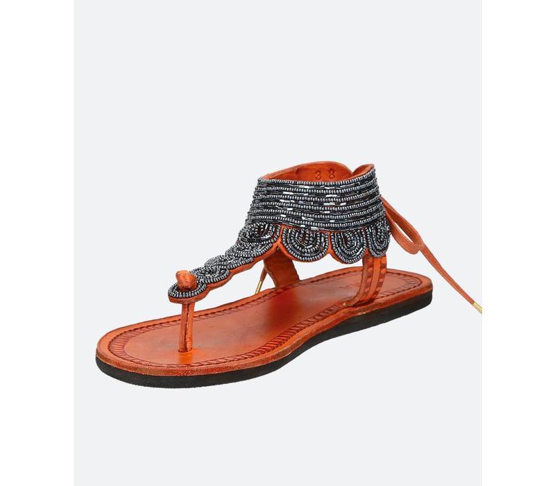 Sandals plane LĀ noires