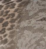 Sjaal Wildlife Bruin