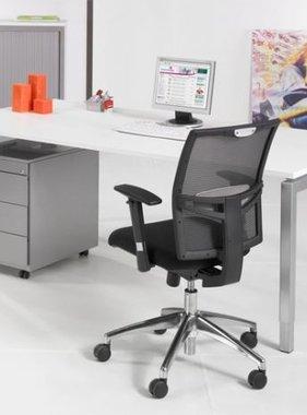 ABC Kantoormeubelen Basis bureau 4- poots voor op het kantoor
