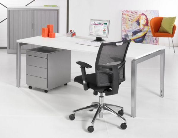 Basis bureau poots voor op het kantoor ✅ kantoormeubelen plus