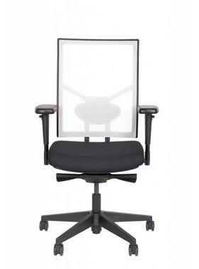 ABC Kantoormeubelen NPR-bureaustoel Zwart Wit
