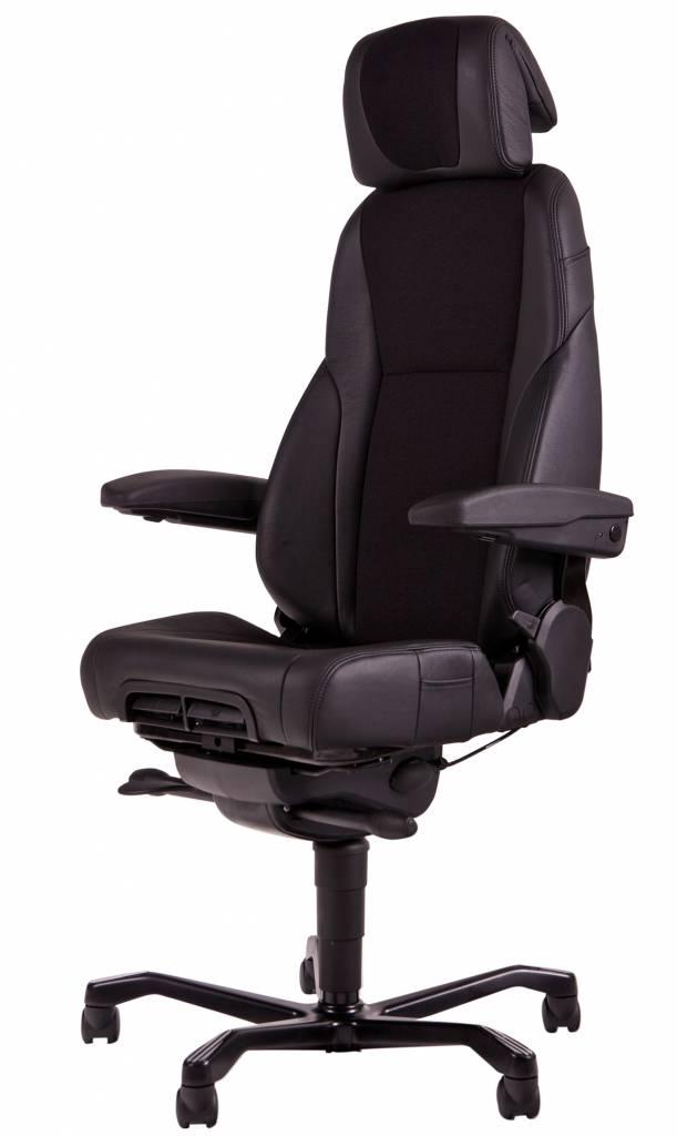 Kantoormeubelen Plus 24-uurs bureaustoel A381, mix stof