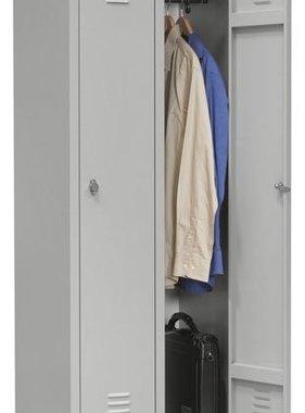 ABC Kantoormeubelen Garderobe lockerkast 2- delig